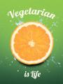 Тетради «Госвами Букс». Vegetarian is life - апельсин (21)