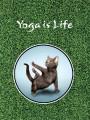 Тетради «Госвами Букс». Yoga is life - кот в асане (34)