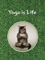 Тетради «Госвами Букс». Yoga is life - кот в позе лотоса (35)